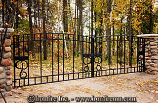 Gates Wrought Iron Gates Railing Fence Amp Staircase